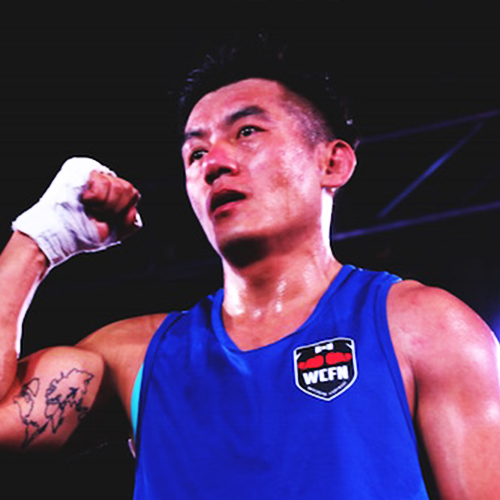 WCFN - White Collar Fight Night is the most important amateur sports event in China
